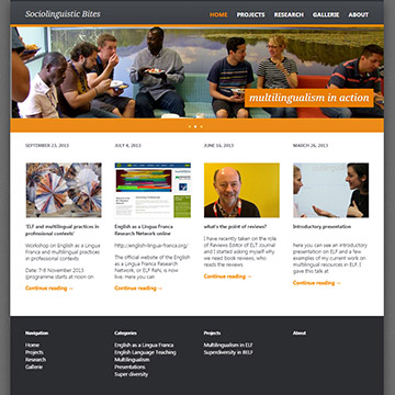 Wordpress for academia personal website